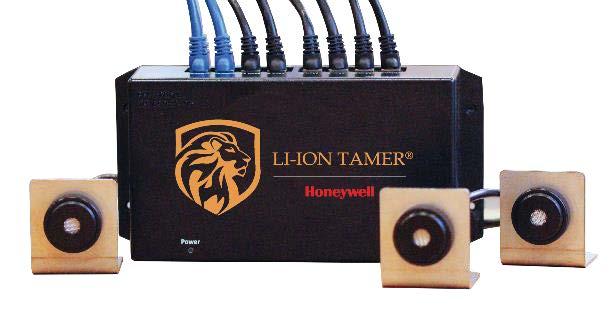 Sistema de detección de gas LI-ION TAMER
